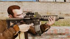 Carabina M4 CQC no estilo de Modern Warfare
