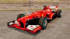 Ferrari F138 2013 v1 para GTA 4