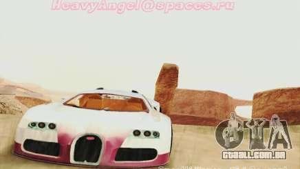 Bugatti Veyron 16.4 Concept para GTA San Andreas