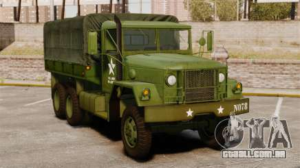 Base militar caminhão AM geral M35A2 1950 para GTA 4