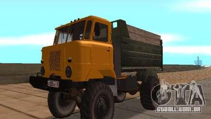 Caminhão de gás-66 para GTA San Andreas