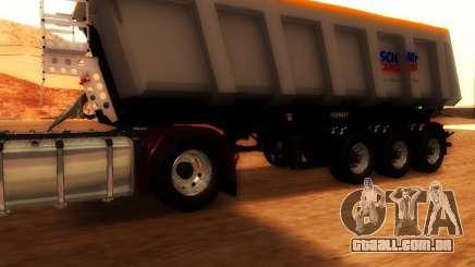 Reboque carga Schmitz Bull para GTA San Andreas