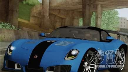 Devon GTX 2010 para GTA San Andreas