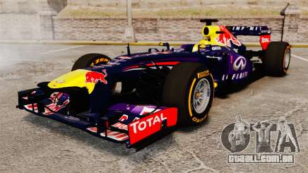 Carro, Red Bull RB9 v2 para GTA 4