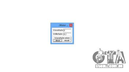 water edit 0.2 para GTA San Andreas