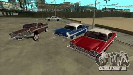 Plymouth Fury para GTA San Andreas
