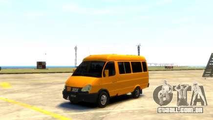 Gazela 3221 para GTA 4