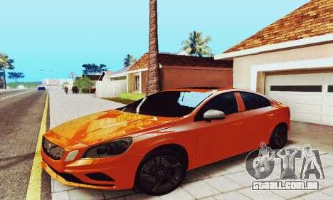 Volvo S60 para GTA San Andreas vista direita