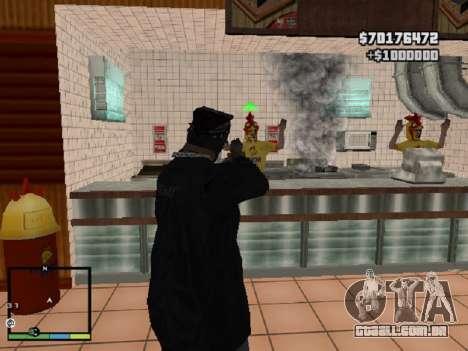 Roubo de loja para GTA San Andreas