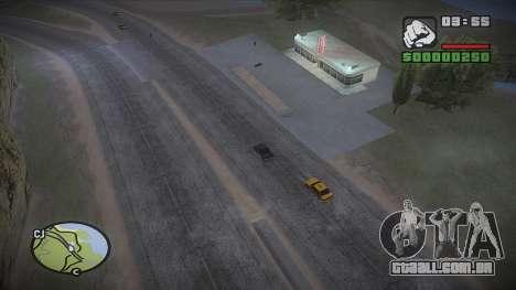 GTA HD mod 2.0 para GTA San Andreas quinto tela