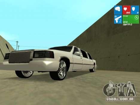New Stretch para GTA San Andreas vista interior
