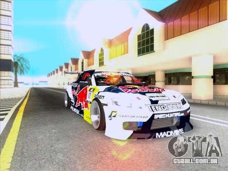 Mazda RX-8 NFS Team Mad Mike para GTA San Andreas vista interior