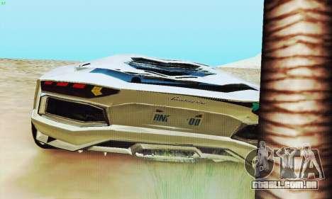 Lamborghini Aventador LP700 para as rodas de GTA San Andreas
