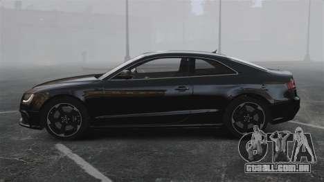 Audi RS5 2011 v2.0 para GTA 4 esquerda vista