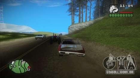 GTA HD mod 2.0 para GTA San Andreas