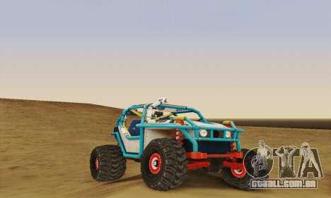 UAZ cadete para GTA San Andreas