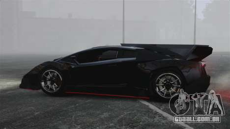 Lamborghini Veneno para GTA 4 esquerda vista