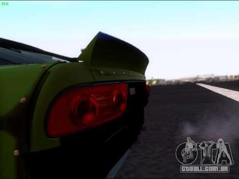 Nissan 180sx Takahiro Kiato para GTA San Andreas vista traseira
