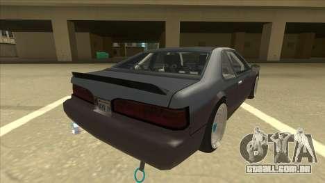 Fortune Drift para GTA San Andreas vista direita