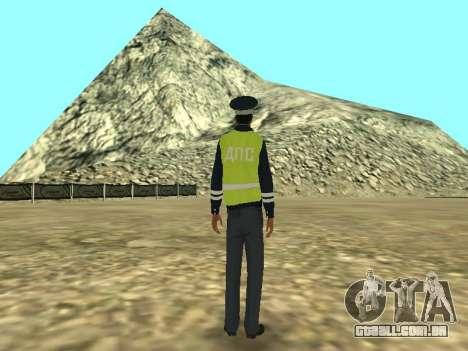 Pele do empregado DPS para GTA San Andreas terceira tela