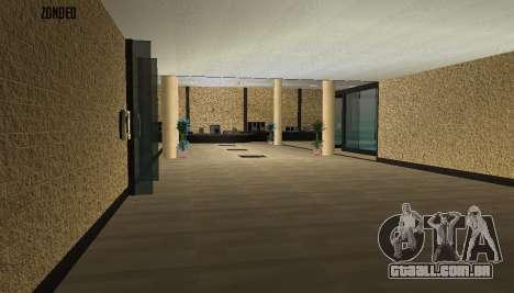 Retekstur o Interior da Câmara Municipal para GTA San Andreas