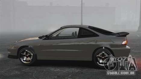 Acura Integra Type-R Domo Kun para GTA 4 esquerda vista