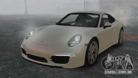 Porsche 911 Carrera S 2012 v2.0 para GTA 4