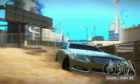 Mercedes-Benz E350 Wagon para GTA San Andreas esquerda vista