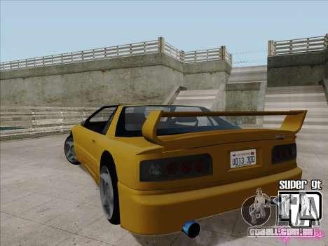 Super GT HD para GTA San Andreas vista direita
