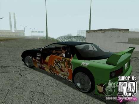 Super GT HD para vista lateral GTA San Andreas