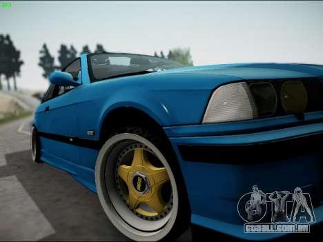 BMW M3 E36 Stance para vista lateral GTA San Andreas