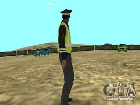 Pele do empregado DPS para GTA San Andreas segunda tela