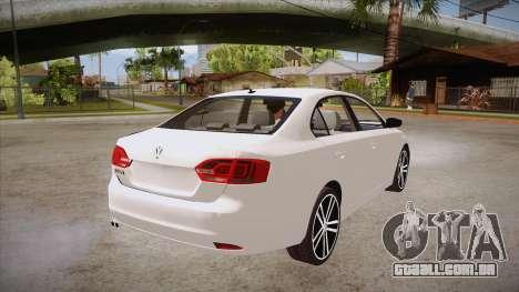 VW Jetta GLI 2013 para GTA San Andreas vista direita