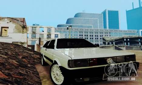 VW Parati GLS 1988 para GTA San Andreas vista interior