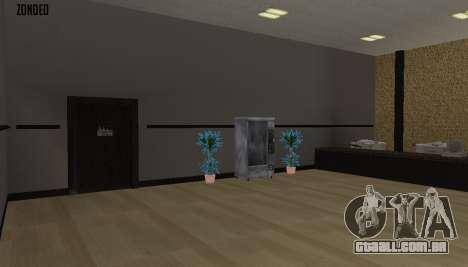 Retekstur o Interior da Câmara Municipal para GTA San Andreas oitavo tela