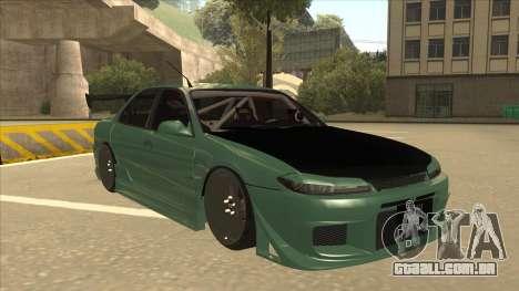 Proton Wira with s15 front end para GTA San Andreas esquerda vista
