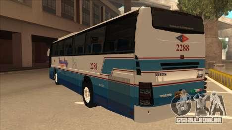 Husky Tours 2288 para GTA San Andreas vista traseira