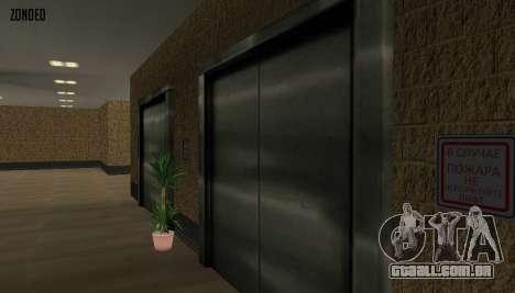 Retekstur o Interior da Câmara Municipal para GTA San Andreas quinto tela