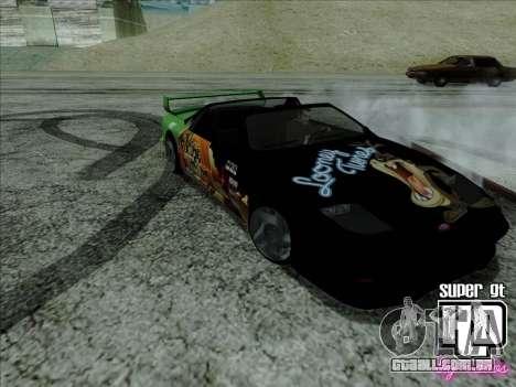 Super GT HD para GTA San Andreas vista interior
