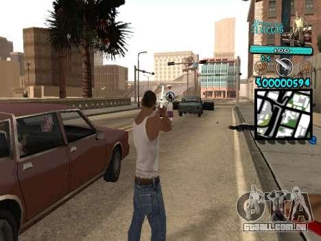 C-HUD by Kerro Diaz [ Aztecas ] para GTA San Andreas