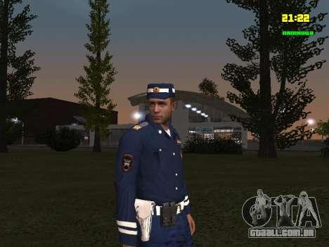 Sargento DPS para GTA San Andreas segunda tela