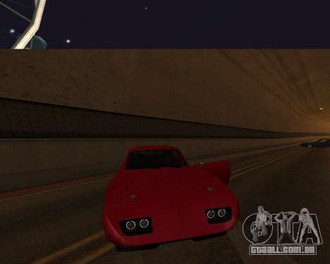 Dodge Charger Daytona para GTA San Andreas interior