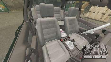 Mitsubishi Galant v2.0 para GTA 4 vista interior