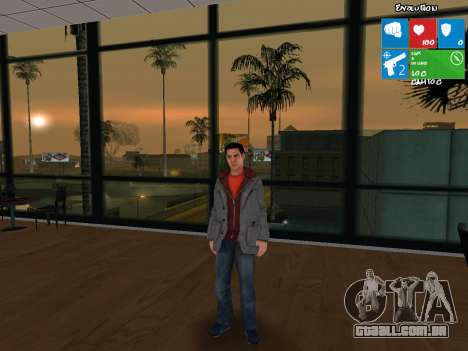 O personagem principal de NFS: Carbon para GTA San Andreas