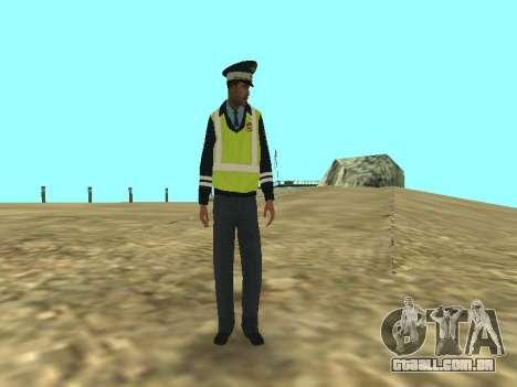 Pele do empregado DPS para GTA San Andreas