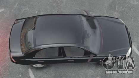 Hyundai Accent Admire para GTA 4 vista direita