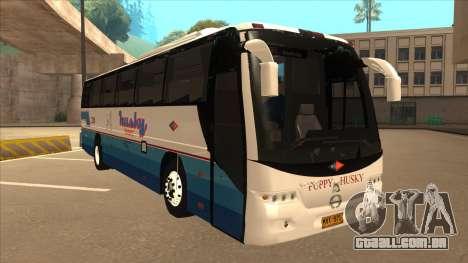 Husky Tours 2288 para GTA San Andreas esquerda vista