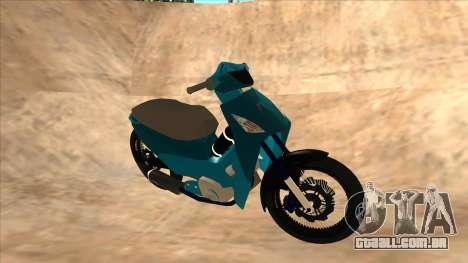 Honda 125cc Tuning para GTA San Andreas esquerda vista