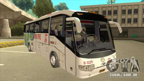 Higer KLQ6129QE - Super Five Transport S 025 para GTA San Andreas esquerda vista