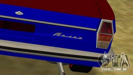 GAZ-24 Volga divertido para GTA San Andreas traseira esquerda vista
